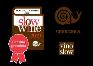 chiocciola + vino slow M. ROSSO 2014