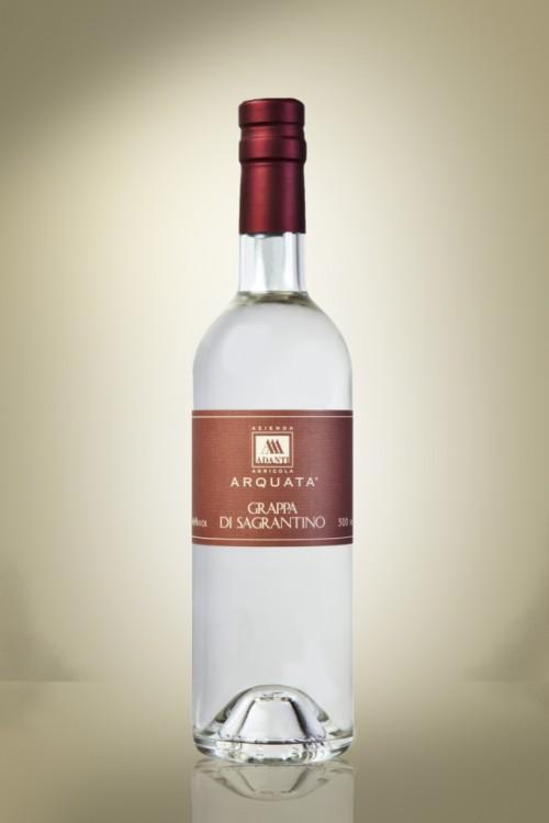 Grappa bianca vinacce da Sagrantino - Cantine Adanti
