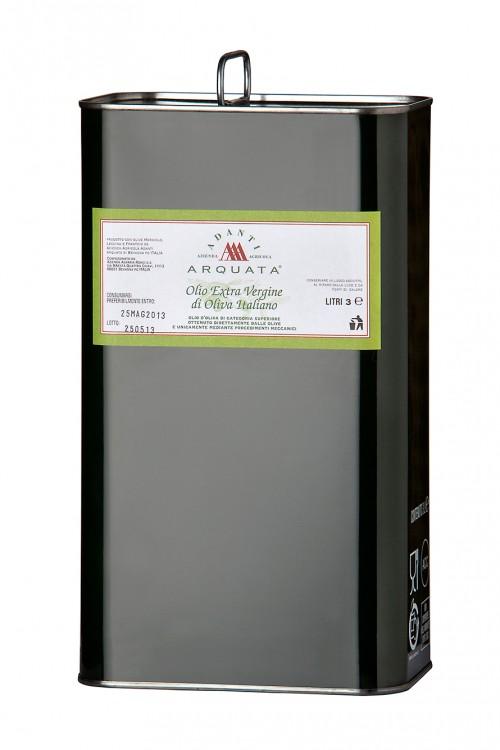 Olio extra vergine oliva lattina 3 LT. - Cantine Adanti