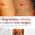 Il Sagrantino robusto e maturo delle origini su I grandi vini