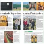 La storia del Sagrantino aperta all'innovazione - Corriere dell'Umbria (Pdf)