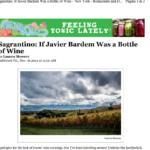 Sagrantino If Javier Bardem Was a Bottle of Wine by Lauren Mowery